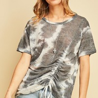 Entro Drawstring Gather Detail Top
