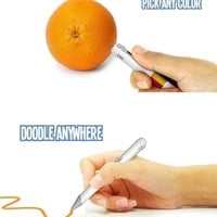 A Color Picker Pen That Reproduces Any Color.