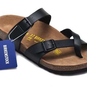 Men's and Women's BIRKENSTOCK sandals Mayari Birko-Flor 632632288-105