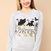 Lion King Napping Graphic Top