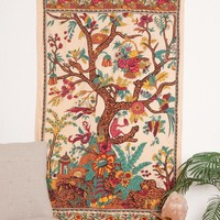 Tree of Life Curtain - Natural
