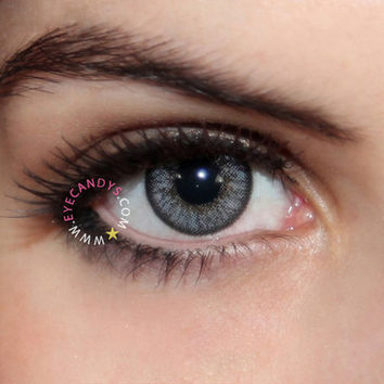 FREE SHIP + Royal Vision Love Color Gray Circle Lens Contacts from EyeCandy's - Color Circle Lens