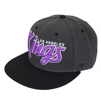 Los Angeles Kings - Logo Retroscript Adjustable Baseball Cap