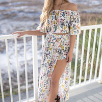 Summer Fling Floral Print Two Piece Set