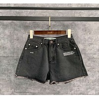 BLUE Oavii OFF Oavii OW WHITE Women' Denim Shorts