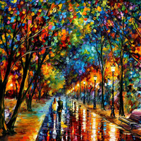 When Dreams Come True - oil painting by Leonid Afremov
