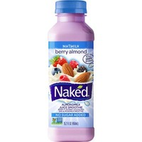Naked Nutmilk Berry Almond Almondmilk Juice Smoothie, 15.2 fl oz - Walmart.com