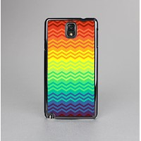 The Rainbow Thin Lined Chevron Pattern Skin-Sert Case for the Samsung Galaxy Note 3