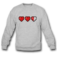 HEART GAME SWEATSHIRT CREWNECK