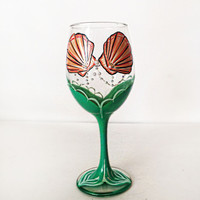 Mermaid Wine Glass – 20 oz
