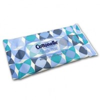 Cottonelle Fresh Care Flushable Wipes, Travel Pack, Case of 12/10s (120 ct)