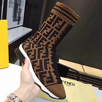 FENDI Women Fashion Casual Short Boots Sneakers Sport Shoes