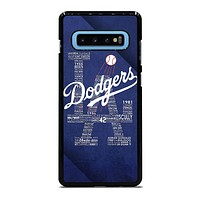 LA LOS ANGELES DODGERS Samsung Galaxy S10 Plus Case Cover