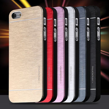 Hottest Candy Bumper Muti-color Deluxe Case For iPhone 4 4S Anti-knock Luxury Protective Skin Frame Cover Cell Phone Accessory