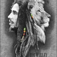 Bob Marley - Lion Profile - Small Tapestry