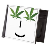 Pot Head Emote Mens Wallet> The Pot Head Emote> 420 Gear Stop
