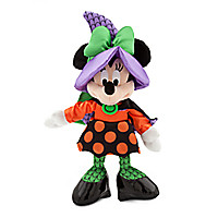 Minnie Mouse Plush - Halloween - Small - 9''