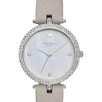 Kate Spade Crystal Case Eldridge Watch Gray/Stainless Steel ONE