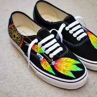 Rasta Dream Catcher Vans