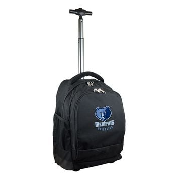 Memphis Grizzlies Wheeled Premium Backpack