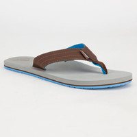 Reef Quencha Tqt Mens Sandals Grey  In Sizes