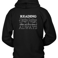 Harry Potter Always Reading Hoodie Two Sided
