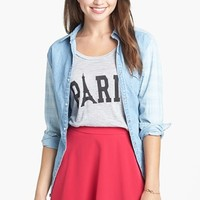 Lush Skater Skirt (Juniors) (Online Only) | Nordstrom