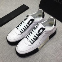 DolceA&Gabba*a  Men Fashion Boots fashionable Casual leather Breathable Sneakers Running Shoes