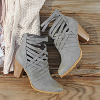 The Jax Braided Booties
