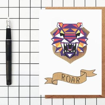 Roar Greeting Card