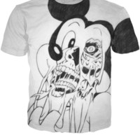 ⭐' T-SHIRT MICKEY MOUSE ZOMBIE '⭐
