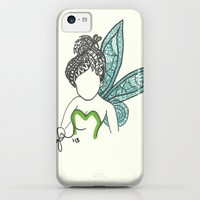 Tinkerbell Zen Tangle iPhone & iPod Case by Jadie Miller