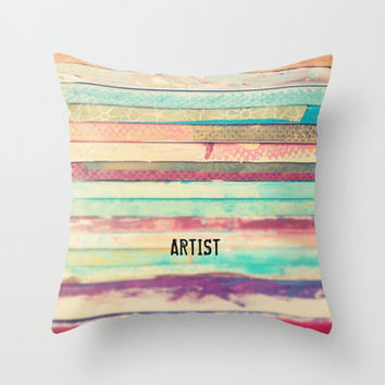 Artist Indoor and Outdoor Throw Pillows