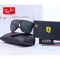 RayBan Ray-Ban x Ferrari Fashion Men Women Personality Summer Sun Shades Eyeglasses Glasses Sunglasses 6#