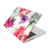 Watercolor Painted Flowers Skin for the Apple MacBook