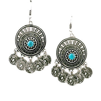 Groovin' Tunes Earrings in Silver