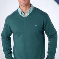 Heathered Sweater   Preppy Mens Clothing   Southern Tide