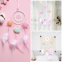 7-Color Flying Wind Chimes Dream Catcher Handmade Gifts Dreamcatcher