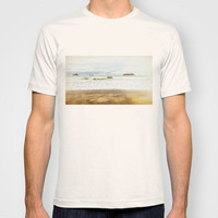 gold and the sea T-shirt by Bonnie Martin