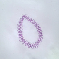 Purple Jelly Tattoo Choker