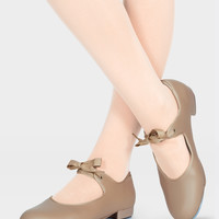 Free Shipping - Adult Beginner Tap Shoe With Ribbon Tie by THEATRICALS