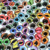 Bulk Lot of 20 10mm Random Overstock Glass Eyes (10 Matching Pairs)