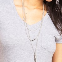 Leaf Layer Necklace