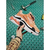 Balenciaga Triple S Orange Sneaker