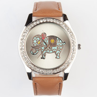 Filigree Elephant Watch | Watches