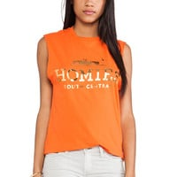 """HOMIES SOUTH CENTRAL"" Muscle Crop Shirt"