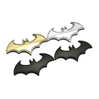 3D Cool Metal bat auto logo car styling car-styling car sticker metal batman badge emblem tail decal accessories car stickers and decals = 1927938244