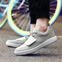Comfort Hot Deal On Sale Casual Stylish Hot Sale Autumn Velcro Low-cut Shoes Thick Crust Height Increase Sneakers [8545231046]