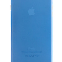 Blue Frosted Transparent Soft Case for iPhone 6