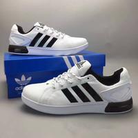 """""""Adidas"""" Fashion Casual Knit Breathable Men Sneakers Plate Shoes Basketball Shoes"""